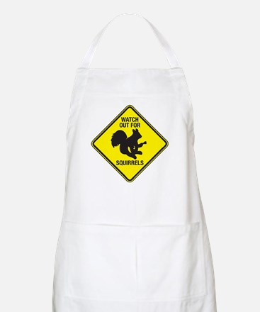 Watch Out For Squirrels Apron