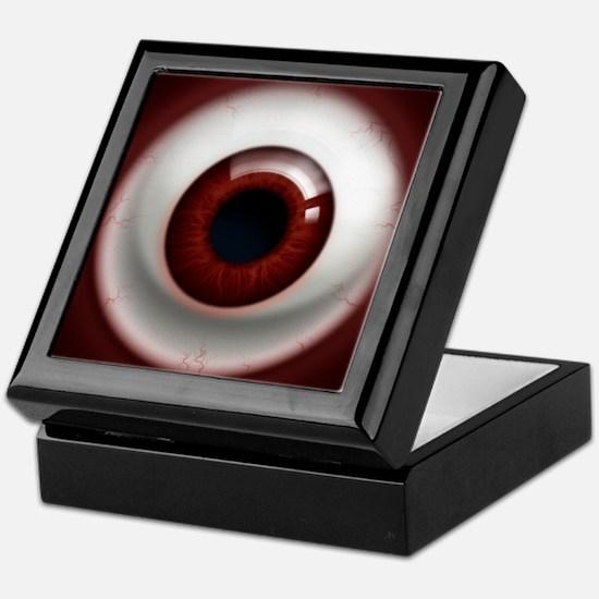 The Eye: Red, Dark Keepsake Box