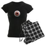 The Eye: Red Women's Dark Pajamas