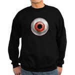 The Eye: Red Sweatshirt (dark)