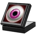 The Eye: Pink, Dark Keepsake Box