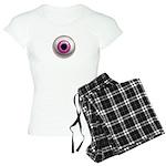 The Eye: Pink, Dark Women's Light Pajamas