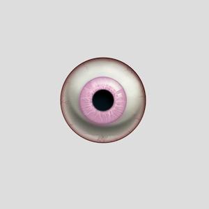 The Eye: Pink, Light Mini Button