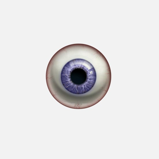 The Eye: Lavender Mini Button