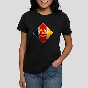 East Germany Roundel Women's Dark T-Shirt
