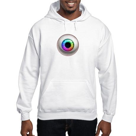 The Eye: Rainbow Hooded Sweatshirt