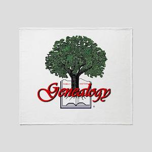 Genealogy Throw Blanket