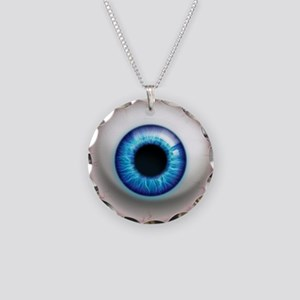 The Eye: Electric Necklace Circle Charm