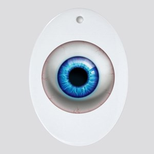 The Eye: Electric Ornament (Oval)