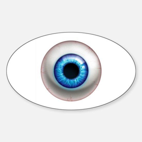 The Eye: Electric Sticker (Oval)