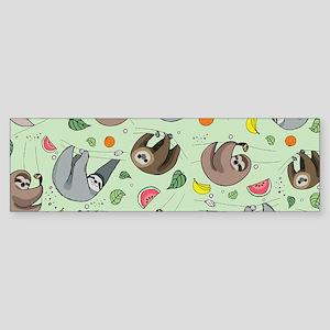 Sloths Bumper Sticker