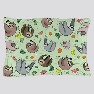 Sloths Pillow Case