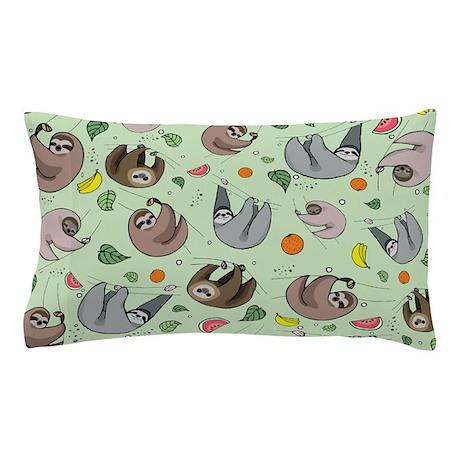 Sloths Pillow Case