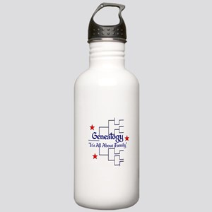 Family Tree Chart Stainless Water Bottle 1.0L