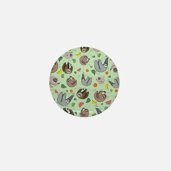Sloths Mini Button (10 pack)