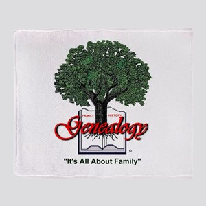 It's All About Family Throw Blanket