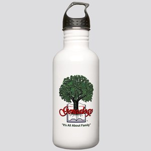 It's All About Family Stainless Water Bottle 1.0L