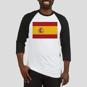 Spain State Flag Baseball Jersey