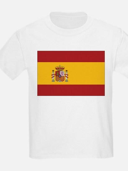 Spain State Flag Kids T-Shirt