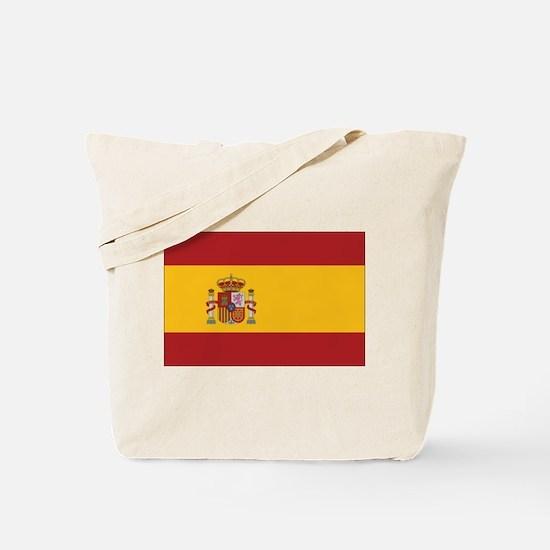 Spain State Flag Tote Bag