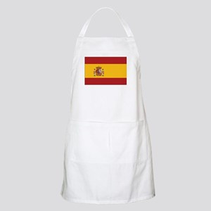 Spain State Flag BBQ Apron