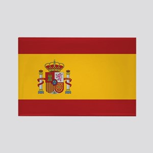 Spain State Flag Rectangle Magnet