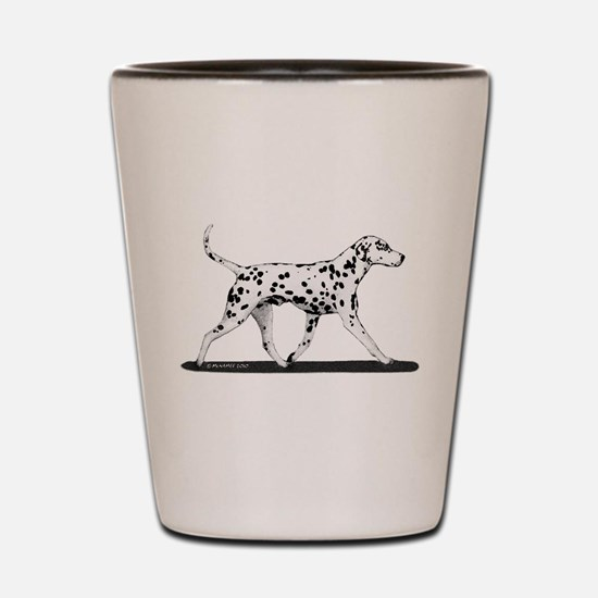 Dalmatian Shot Glass