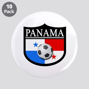 "Panama Patch (Soccer) 3.5"" Button (10 pack)"
