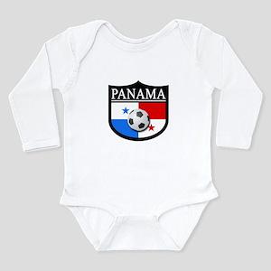 Panama Patch (Soccer) Long Sleeve Infant Bodysuit