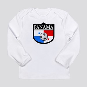 Panama Patch (Soccer) Long Sleeve Infant T-Shirt