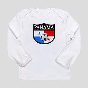Panama Patch (Soccer) Long Sleeve Infant T-Shirt