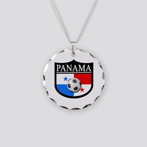 Panama Patch (Soccer) Necklace Circle Charm