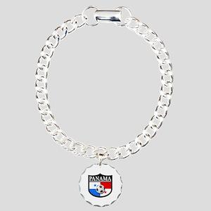 Panama Patch (Soccer) Charm Bracelet, One Charm