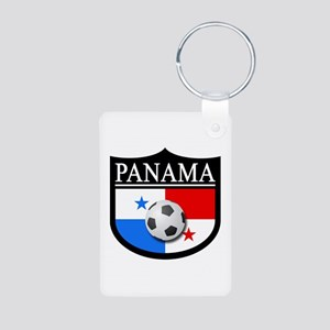 Panama Patch (Soccer) Aluminum Photo Keychain
