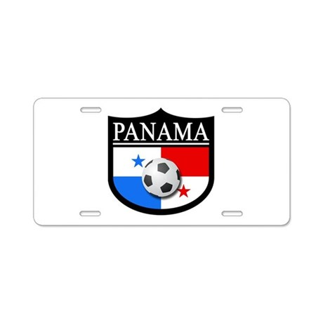 Panama Patch (Soccer) Aluminum License Plate