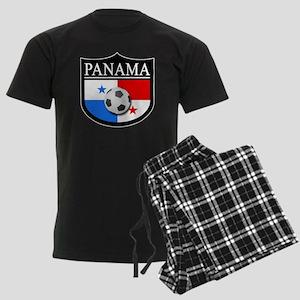 Panama Patch (Soccer) Men's Dark Pajamas