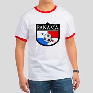 Panama Patch (Soccer) Ringer T