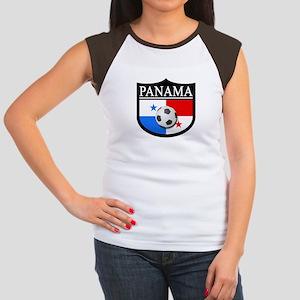 Panama Patch (Soccer) Women's Cap Sleeve T-Shirt
