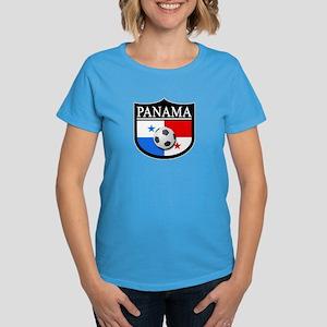 Panama Patch (Soccer) Women's Dark T-Shirt