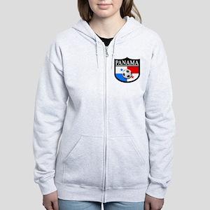 Panama Patch (Soccer) Women's Zip Hoodie