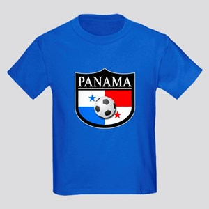 Panama Patch (Soccer) Kids Dark T-Shirt