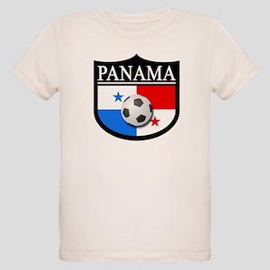 Panama Patch (Soccer) Organic Kids T-Shirt