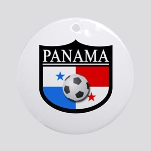Panama Patch (Soccer) Ornament (Round)
