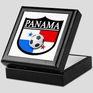 Panama Patch (Soccer) Keepsake Box