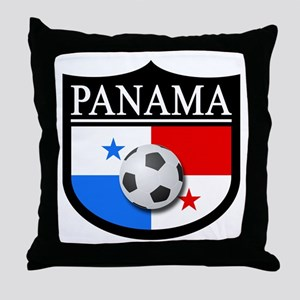 Panama Patch (Soccer) Throw Pillow