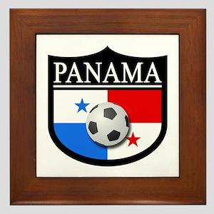 Panama Patch (Soccer) Framed Tile