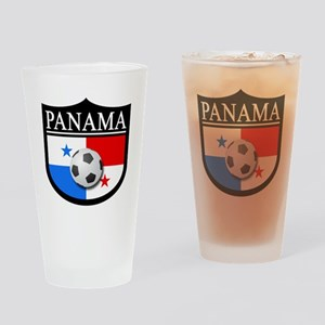 Panama Patch (Soccer) Drinking Glass
