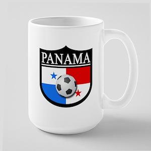 Panama Patch (Soccer) Large Mug