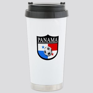 Panama Patch (Soccer) Stainless Steel Travel Mug