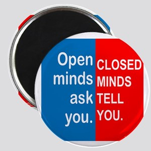 Open Mind Magnet